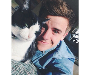 cat, connor franta, and Connor image