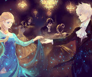 jelsa and frozen elsa x jack frost image