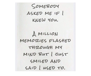 memories, WITH, and strangers image