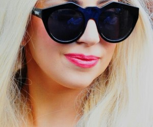 blonde, fashion, and gaga image