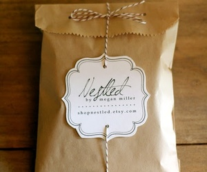 diy, gift, and wrap image
