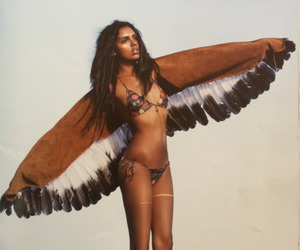 angel, fashion, and bohemian image