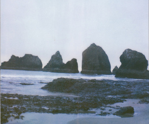 beach, oceanside, and oregon image