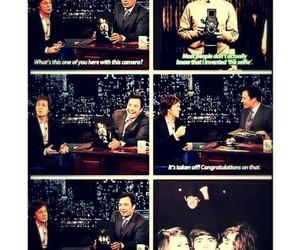funny, jimmy fallon, and Paul McCartney image