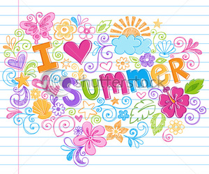 summer, flowers, and colors image