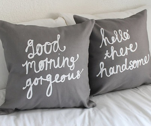 pillow, bed, and bedroom image