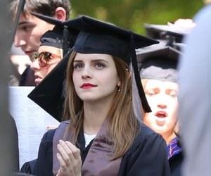 emma watson, graduation, and emma image