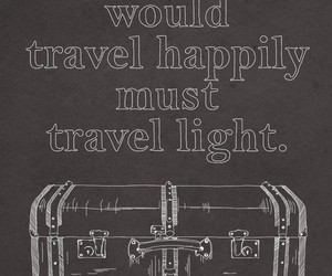 baggage, happiness, and life image
