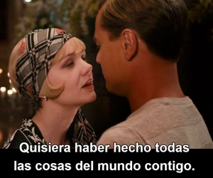 amor, frases, and gatsby image