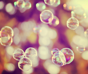 bubbles and pretty image