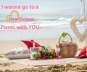 awesome, picnic, and sea side image