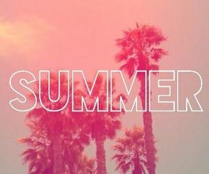 pink, summer, and holiday image