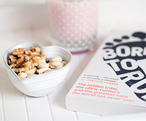 food, book, and breakfast image