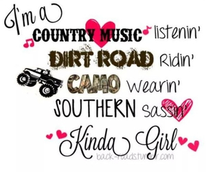 country and girl image