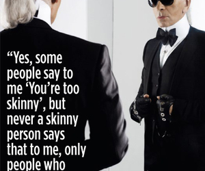 quotes, karl lagerfeld, and chanel image