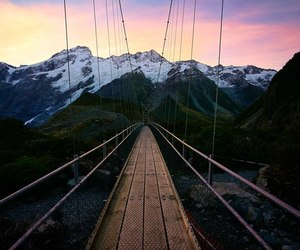beauty, mountains, and new zealand image