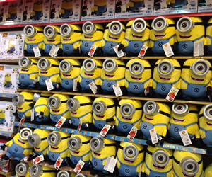 minions, shop, and toys image