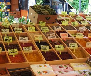 bazaar, food, and summer image