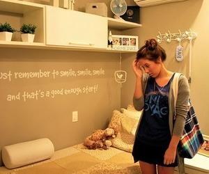 girl and room image