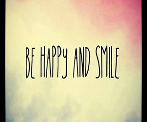 smile, happy, and be image
