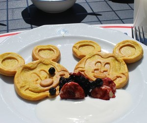 blueberries, disney, and food image