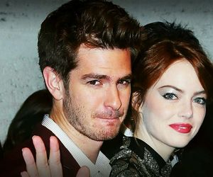 couple, love, and emma stone image