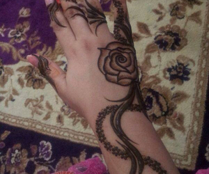 design, henna, and mehendi image