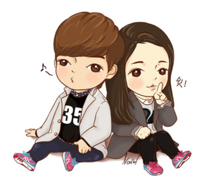 the heirs, chibi, and lee min ho image