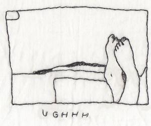drawing, feet, and random image