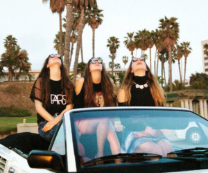fashion, girl, and haim image