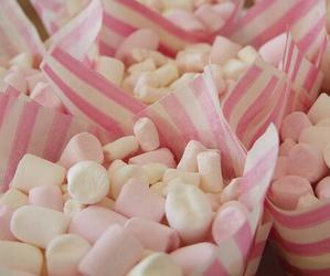 pink, candy, and marshmallow image