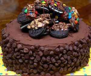 chocolate, cake, and oreo image