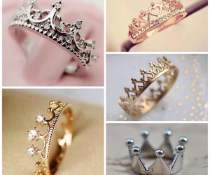 crown, ring, and pretty image