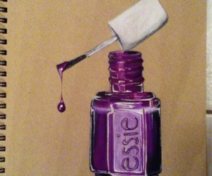 colour, draw, and nail image