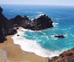 beach, beautiful, and paradise image
