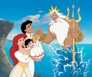 ariel, disney, and melody image