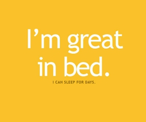 bed, quote, and text image