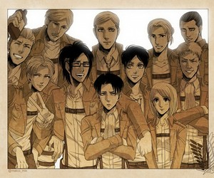anime, Erwin, and günther image