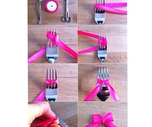 diy, pink, and bow image