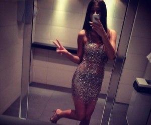 dress, girl, and sexy image