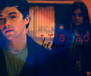 ezra, pretty little liars, and pll image