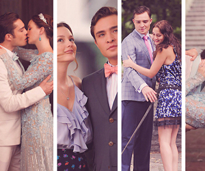 gossip girl, blair, and chuck image