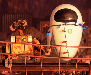 wall-e, disney, and robot image