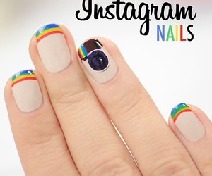 nails and instagram image