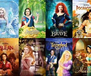 disney, disney princesses, and movies image