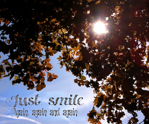 again, always, and smile image