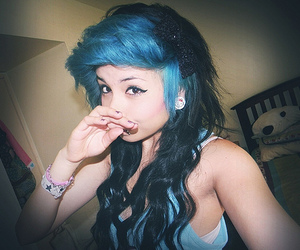 girl, hair, and octokathyy image