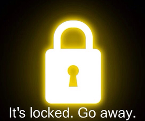locked, quote, and wallpaper image