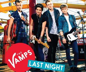 the vamps, last night, and tristan evans image