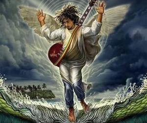 angel, music, and bob marley image